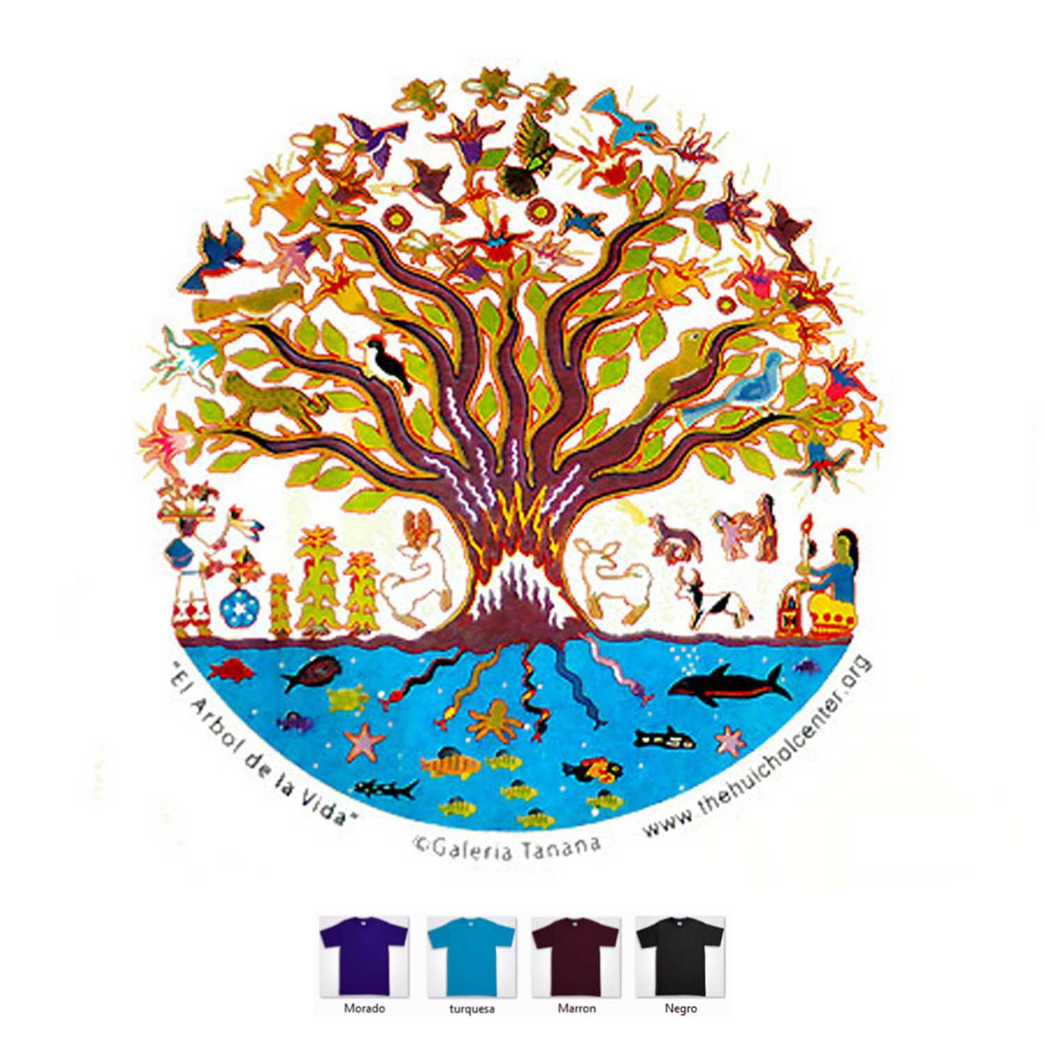 T shirt - Tree of life