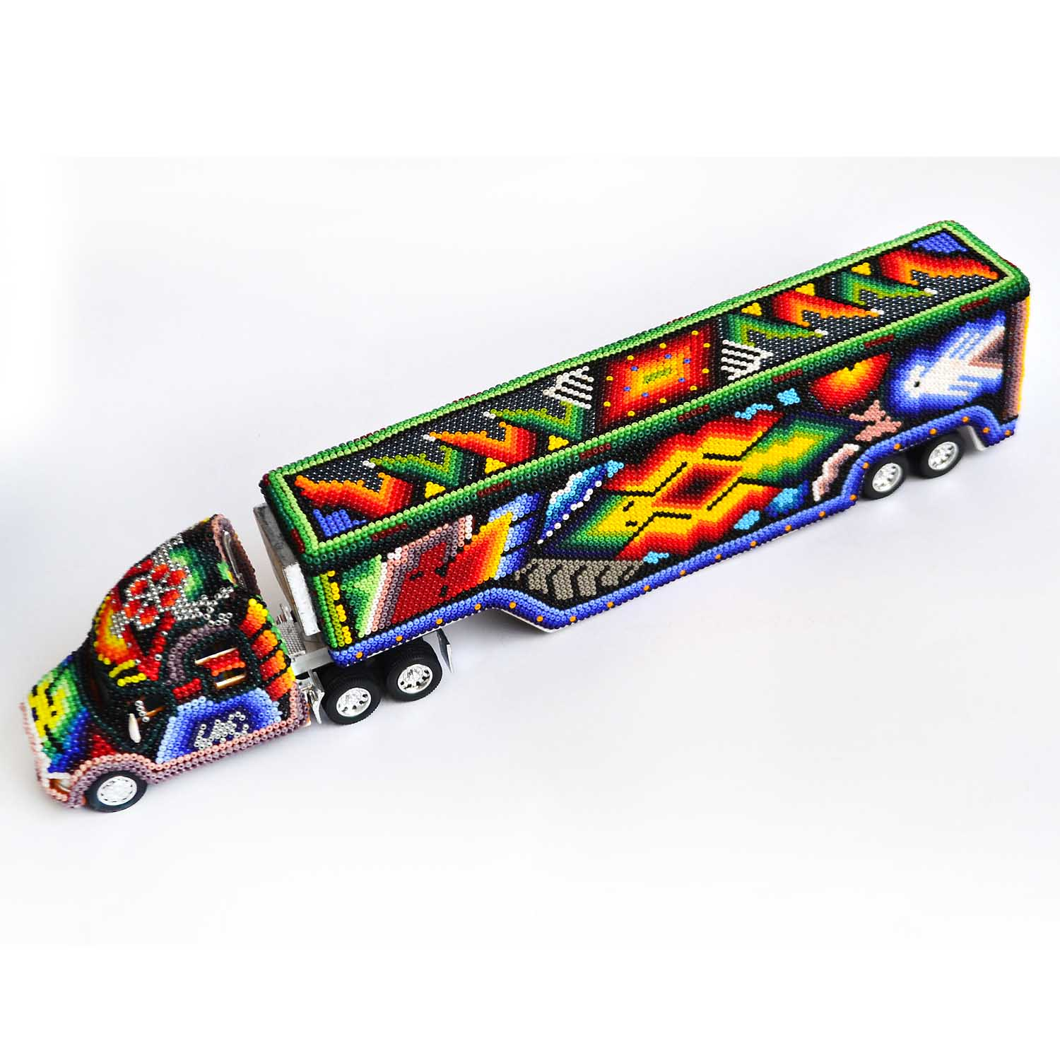 Trailer - Huichol art