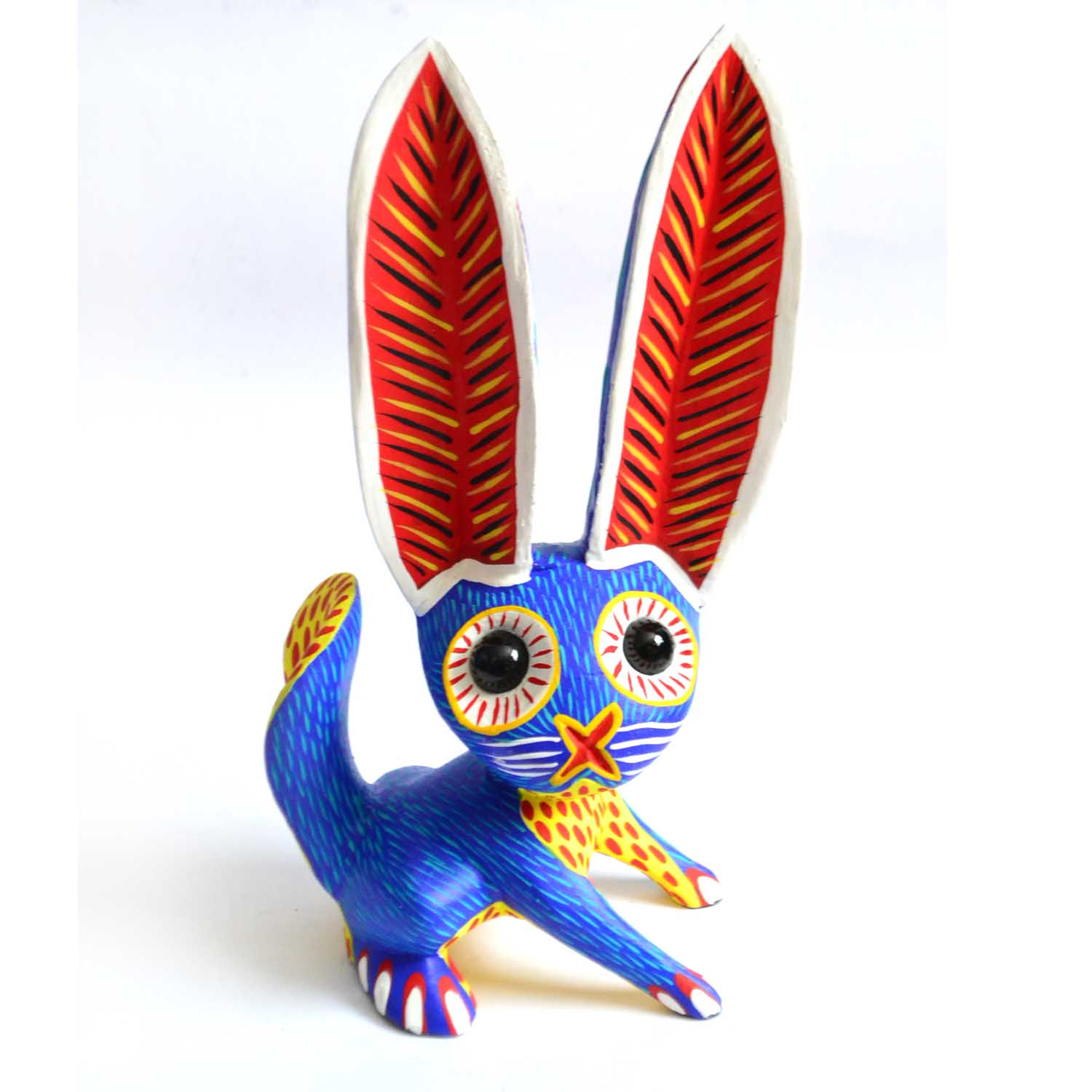 Rabbit - Wood - Alebrije