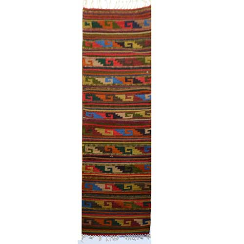 Wool Runer Rug - 40 x 200 cms