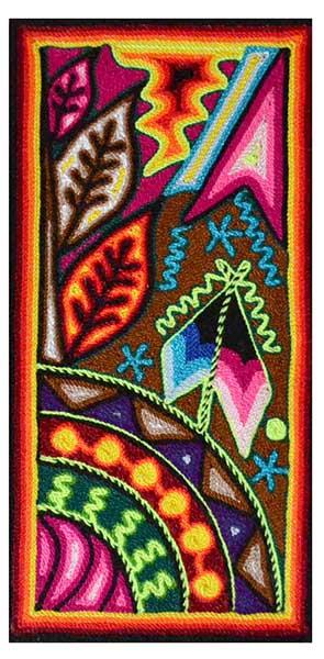 Tabla - Painting - 15 x 30 cms