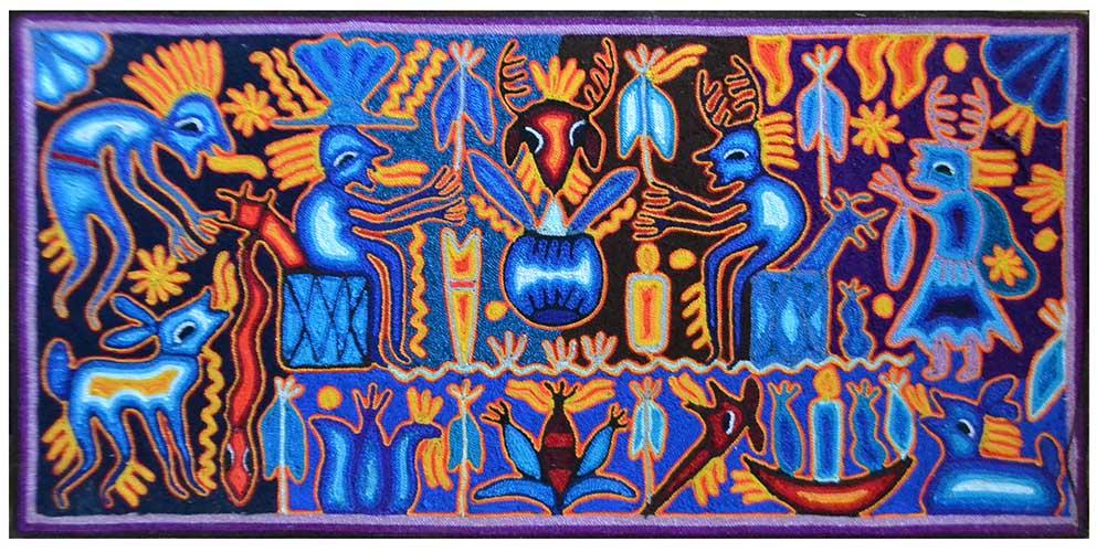 Tabla - Painting - 30 x 60 cms