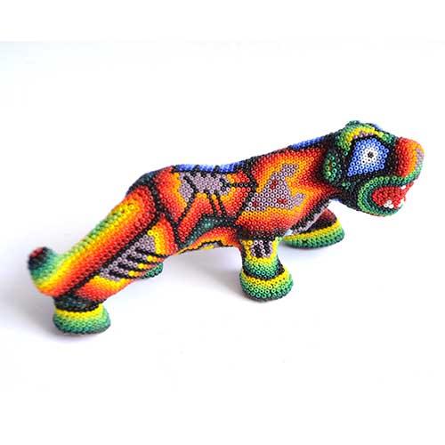 Jaguar - Huichol - Beads