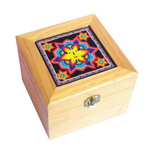 Caja de regalo - Huichol