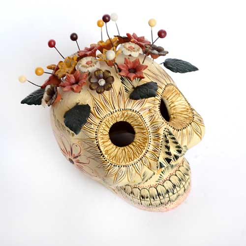 Craneo de Barro - Clay Skull